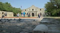 Alamo San Antonio - stock footage