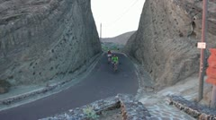 Linosa island (bike) Stock Footage