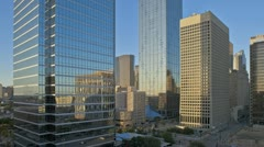 Sunset Dallas Timelapse Stock Footage