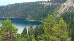 Lake Tahoe 15 Dolly L Emerald Bay Stock Footage