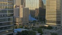 Sunset Dallas Timelapse Stock Footage