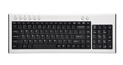 Wireless  keyboard Stock Photos