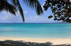 Tropical seascape Stock Photos