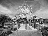 Temple in koh-samui, thailand, august 2007 Stock Photos