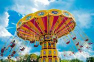 Stock Photo of Colorful carousel