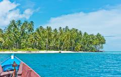Desert island, Banyak archipelago Stock Photos