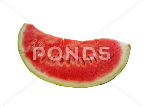 Stock photo of Delicious slice of watermelon