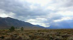 Devils Postpile 15 Timelapse Sunset x40 Sierra Nevada Mts Stock Footage