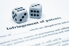 infrigement of patents - stock photo