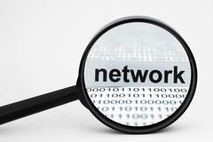 Network search Stock Photos