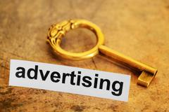Advertising target Stock Photos