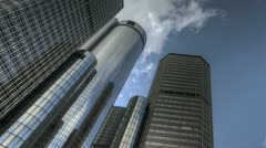 Detroit Renaissance Center Stock Footage