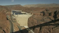 Hoover Dam Stock Footage