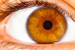 Human eye close up ... Stock Photos