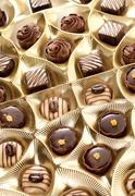 Stock Photo of chocolate sweets
