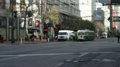 Market Street San Francisco Arkistovideo