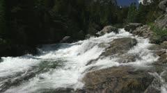 Rushing Mountain Stream Stock Footage