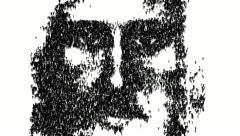 Face of Jesus Christ. Based on the Turin Shroud. Stock Footage