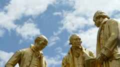 Boulton, Watt and Murdoch in Birmingham, England. Stock Footage