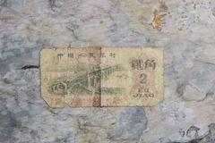 Old currency paper currency Stock Photos