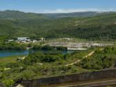 Furnas hydroelectric station at quebra anjol Stock Photos