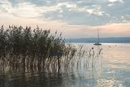 Stock Photo of low light on lake starnberg