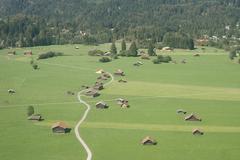 Stock Photo of alpine valley farms