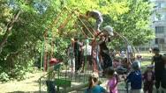 Children play in the kindergarten 2 Stock Footage