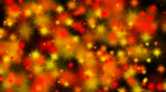Frame full of multi-colored splats. Stock Footage