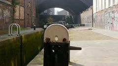 Birmingham and Fazeley Canal Stock Footage