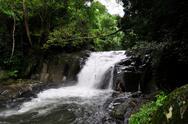 Pala-U Waterfall level 4 Stock Photos