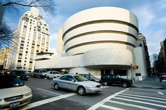The solomon r. guggenheim museum of modern and contemporary art Stock Photos