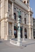 natural history museum,vienna,austria - stock photo