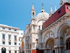 patriarchal cathedral basilica of saint mark, venice - stock photo