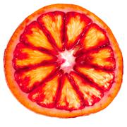 Sliced red orange Stock Photos