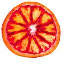 Sliced red orange Stock Photos