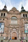 the nordic museum in stockholm, sweden - stock photo