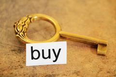 buy concept - stock photo