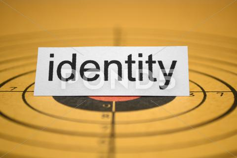 Stock photo of identity concept