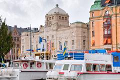 Näkymä royal dramaattinen teatteri, Tukholma Kuvituskuvat