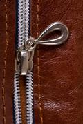 Zipper close-up Stock Photos