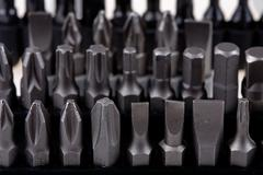 array of screwdriver - stock photo