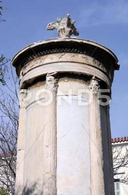 Stock photo of Lysicrates Monument