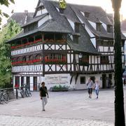 La maison des tanneurs - old house in strasbourg Stock Photos