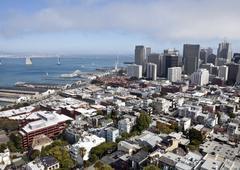 San Francisco antenni Kuvituskuvat