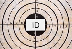 id target - stock photo