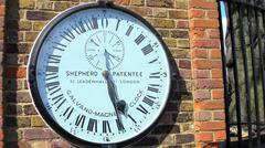 Shepherd Gate Clock Stock Photos