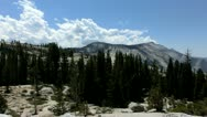 Yosemite 14 Oldmsted Point Stock Footage