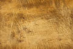 Worn and stained wood texture - stock photo