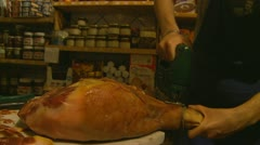 Delicatessen in Italy (14) Stock Footage